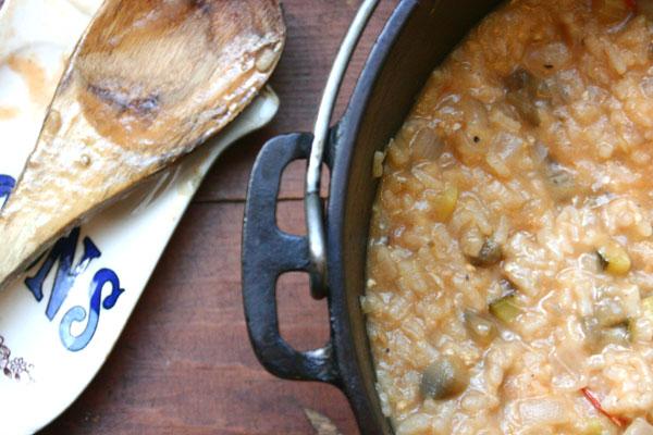 EggplantTomatoRisotto3