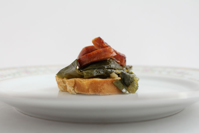 CrostiniWithSausageAndBraisedGreens4